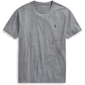 《期間限定セール開催中!》POLO RALPH LAUREN メンズ T シャツ グレー XS コットン 100% CUSTOM SLIM FIT COTTON T-SHIRT