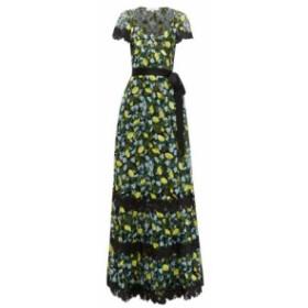 ダイアン フォン ファステンバーグ Diane Von Furstenberg レディース ワンピース ワンピース・ドレス Victorious lemon-embroidered lac