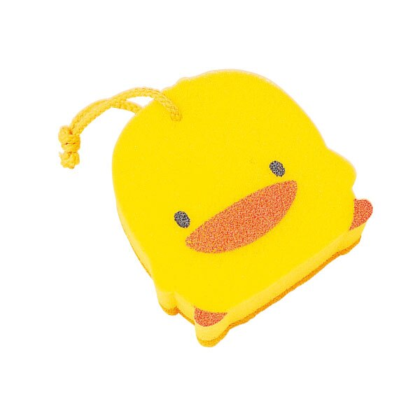 黃色小鴨 雙層沐浴海綿『121婦嬰用品館』