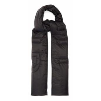 ジバンシー Givenchy メンズ マフラー・スカーフ・ストール Logo-quilted technical scarf black