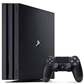 【送料無料】【中古】PS4 PlayStation 4 Pro ジェット・ブラック 1TB (CUH-7000BB01) プレイステーション4(箱説付き)