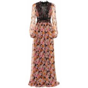 ジャンバティスタ バリ Giambattista Valli レディース パーティードレス ワンピース・ドレス Floral silk gown