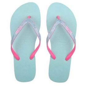 [Jiansheng] ビーチサンダル、ホームレディーススリッパ、バスルーム、速乾性、滑り止め、滑りにくいビーチドラッグ、ローズレッド(35-42) (Color : Blue green, Size : 35)