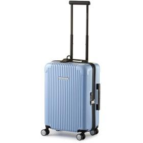 (センチュリオン)CENTURION ジッパータイプ ZIPPER型 スーツケース カラフル おしゃれ 軽量 ビジネス出張 静音 旅行用品 超軽量 大容量 8輪【TSAロック 1年保証】 (22インチ, カルフォルニアブルー)