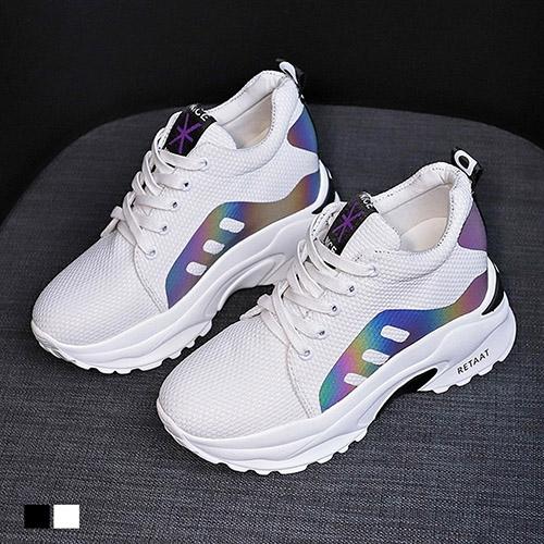 休閒鞋.心機時尚內增高運動鞋