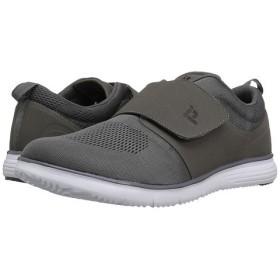 (プロペット) Propet メンズスニーカー・カジュアルシューズ・靴 Travelfit Strap Grey 11.5 29.5cm X (3E) [並行輸入品]