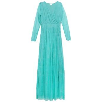 《セール開催中》LA KORE レディース ロングワンピース&ドレス グリーン 1 ポリエステル 100%