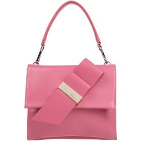 《期間限定セール開催中!》BLUMARINE レディース ハンドバッグ ピンク 革