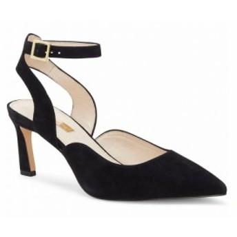 ルイーズ エ シー Louise et Cie レディース パンプス シューズ・靴 Kayin Suede Ankle Strap Pumps Black