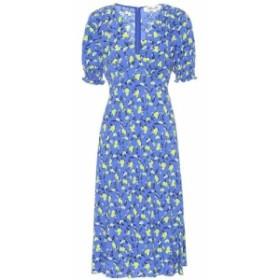 ダイアン フォン ファステンバーグ Diane von Furstenberg レディース ワンピース ワンピース・ドレス Jemma floral crepe midi dress Ba