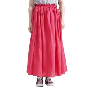 [マルイ] 大きいサイズ レディース スカート コットン フレア マキシ ゴム/ゴールドジャパン(大きいサイズ)(GOLDJAPAN)