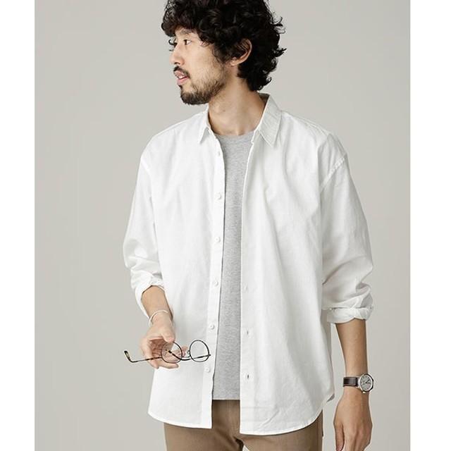 [マルイ]【セール】カラーライトコットンワイドシャツ/ナノ・ユニバース(メンズ)(nano universe)