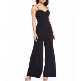 ジービー GB レディース オールインワン ワンピース・ドレス Bustier Wide Leg Jumpsuit Black