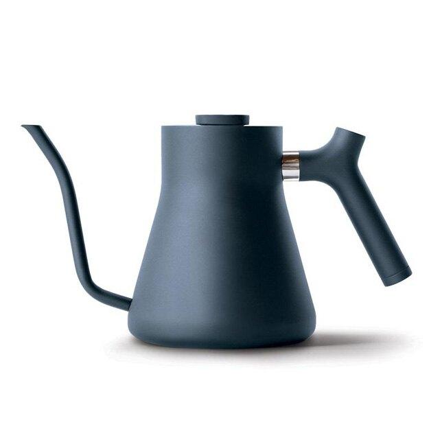 金時代書香咖啡 FELLOW STAGG v1.2 不鏽鋼測溫細口手沖壺 1L 牛仔藍HG2420