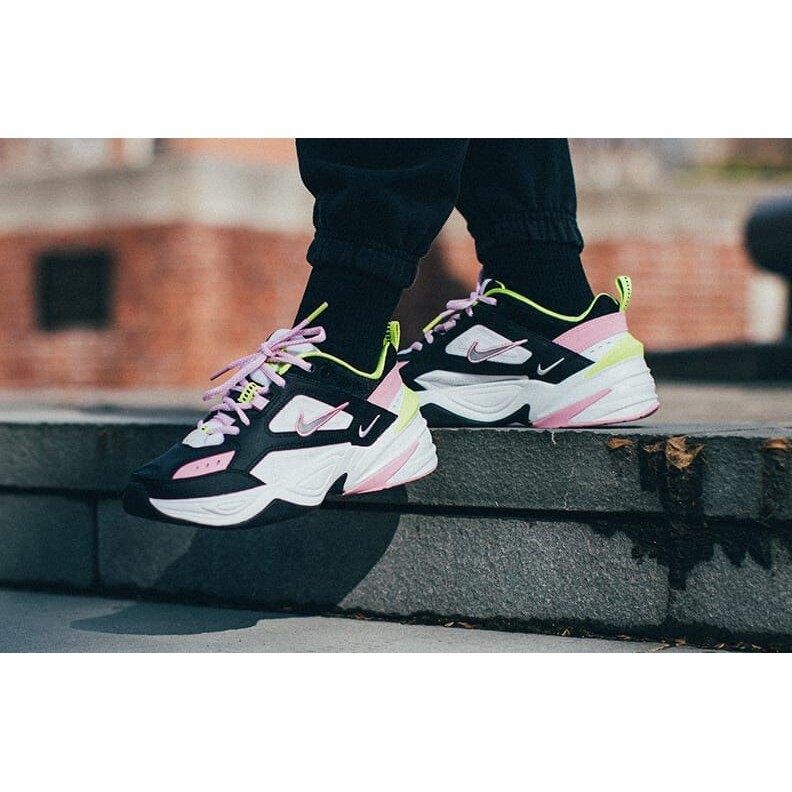 【日本海外代購】NIKE M2K TEKNO 黑粉 粉黑 黑白 白粉 增高 復古 老爹鞋 歐美限定 女鞋 CI5772-001