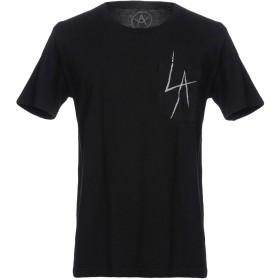 《期間限定 セール開催中》LOCAL AUTHORITY メンズ T シャツ ブラック M コットン 100%