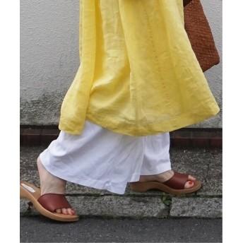 journal standard luxe 【CARETTI / カレッティ】wood sandals ブラウン B 5
