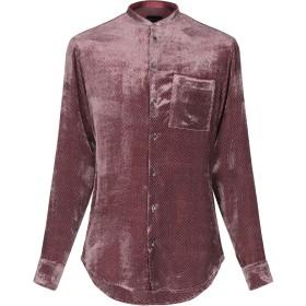 《期間限定セール開催中!》GIORGIO ARMANI メンズ シャツ ガーネット 39 レーヨン 82% / シルク 18%