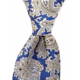 ダニエル クレミュ Cremieux メンズ ネクタイ Pozzuoli Paisley Traditional 3 1/4' Silk Tie Navy