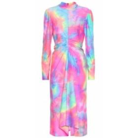シエス マルジャン Sies Marjan レディース ワンピース ワンピース・ドレス Nara tie-dye midi dress Multicolored