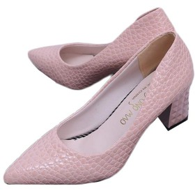 [8xui] 水玉柄 ホワイト ブラック 桜色 ピンク レディース かわいい コンフォート ポインテッドトゥ ふかふかインソール 歩きやすい パンプス 23.0cm ハイヒール 靴 ヒール6cm 通気性 太めヒール 安定感 女性向け エレガント おしゃれ 通学 ハイヒールパンプス