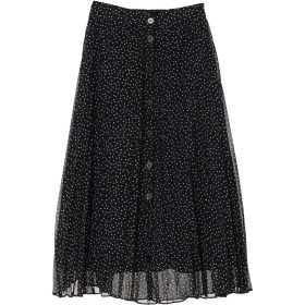 【6,000円(税込)以上のお買物で全国送料無料。】前ボタンプリーツスカート