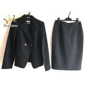ジャンフランコフェレストゥーディオ スカートスーツ サイズ6 M レディース 美品 ダークグレー  値下げ 20190919
