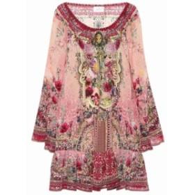 カミーラ Camilla レディース ワンピース ワンピース・ドレス Embellished silk minidress La Belle