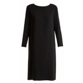 ザ ロウ The Row レディース ワンピース ワンピース・ドレス Larina crepe tunic dress black