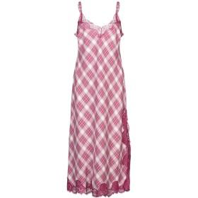 《期間限定 セール開催中》ALBERTA FERRETTI レディース 7分丈ワンピース・ドレス ガーネット 44 コットン 98% / 指定外繊維 2% / ナイロン