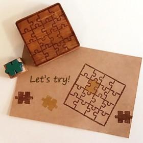 Jigsawパズルのはんこ