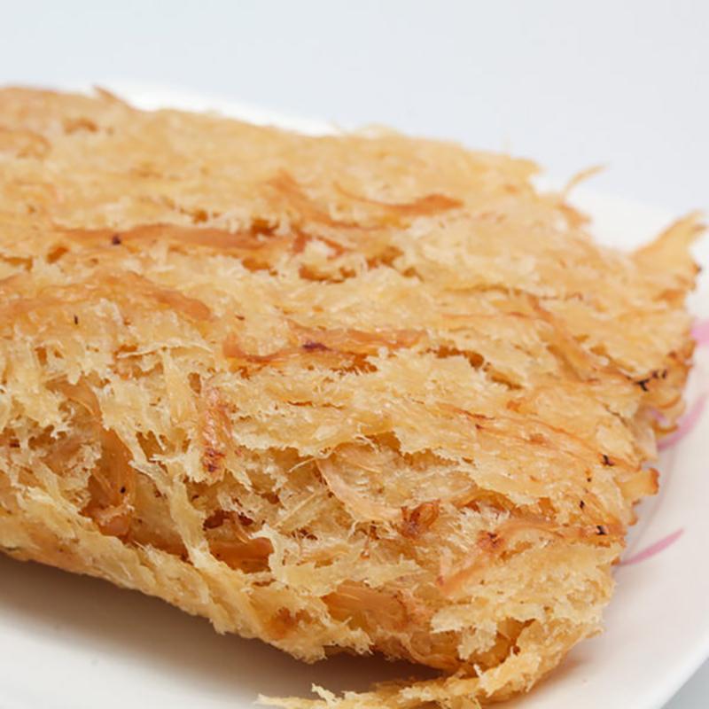 《金梓食品》煙燻魷魚片(180g/包,共兩包)