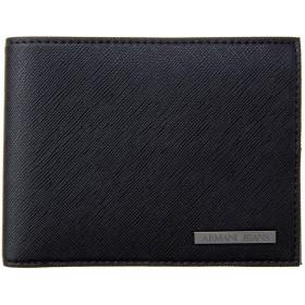 アルマーニジーンズ ARAMANI JEANS 938538 CD991 00020 二つ折り財布 BLACK [並行輸入品]