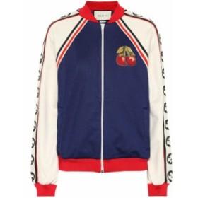 グッチ Gucci レディース ジャージ アウター Cotton blend track jacket multi
