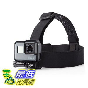 [106美國直購] AmazonBasics 相機頭帶 Head Strap Camera Mount for GoPro