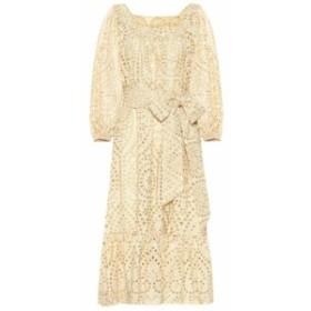 リサ マリー フェルナンデス Lisa Marie Fernandez レディース ワンピース ワンピース・ドレス Laure eyelet cotton dress Nat Gold