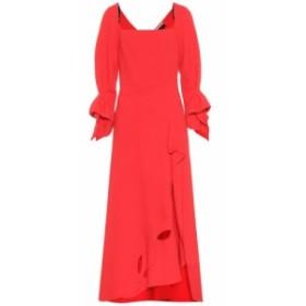 ローラン ムレ Roland Mouret レディース ワンピース ワンピース・ドレス Trinity wool-crepe dress Bright Red