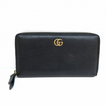 purchase cheap 9639a dce62 グッチ GUCCI プチマーモント ジッピーウォレット ブラック 財布 ...