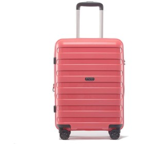 スーツケース 大型 軽量 キャリーバック ハード ケース 旅行用品 L M S サイズ P-7012L (M、中型、24, サーモンピンク)