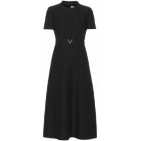 ヴァレンティノ Valentino レディース ワンピース ワンピース・ドレス Wool and silk midi dress