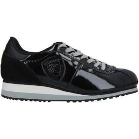 《期間限定 セール開催中》BLAUER レディース スニーカー&テニスシューズ(ローカット) ブラック 37 ゴム / 紡績繊維 / 革