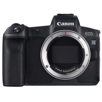 Canon キヤノン フルサイズデジタルミラーレス一眼 レンズ別売 EOS R BODY ブラック デジタル一眼カメラ ミラーレスカメラ