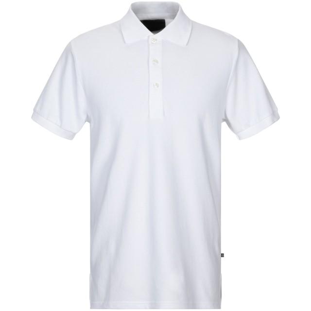 《セール開催中》PHILIPP PLEIN メンズ ポロシャツ ホワイト L コットン 100%