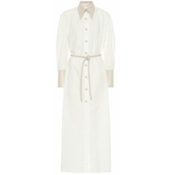 ナヌシュカ Nanushka レディース ワンピース ワンピース・ドレス Yoon cotton shirt dress White/Creme