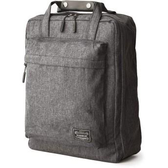 tocotabi スーツケースみたいなリュックサック トランクリュック 1-2泊 ノートPC収納 A4 防水 旅行 通勤 通学 (ダークグレー)