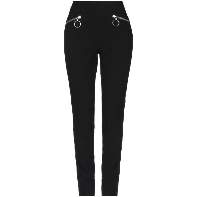 《セール開催中》MOSCHINO レディース パンツ ブラック 38 バージンウール 93% / ナイロン 6% / 指定外繊維 1%