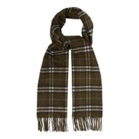 バーバリー Burberry メンズ マフラー・スカーフ・ストール Vintage-check cashmere scarf brown