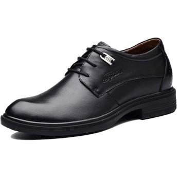 [トーフォズ] ビジネスシューズ レザーシューズ レースアップ メンズ 紳士靴 本革 滑り止め 耐摩耗性 防水 外羽根 通気性 フォーマル 柔らかい 衝撃吸収 通勤 結婚式 ブラック 28.5cm 0F0I204