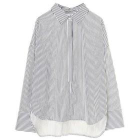 SUGAR ROSE / オーバーサイズストライプシャツ