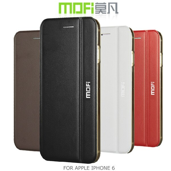 強尼拍賣~現貨出清 MOFI 莫凡 APPLE IPHONE 6 4.7吋 真皮系列側翻皮套 支架皮套 可站立皮套